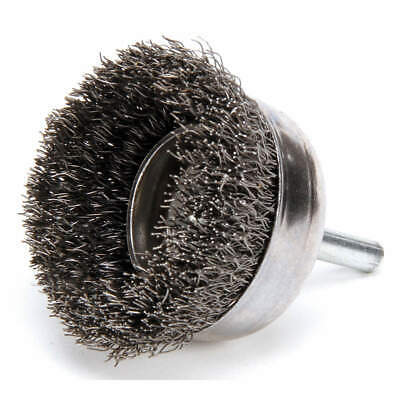 WEILER Crimped Wire Cup Brush,2 In.,0.0118 In., 93044