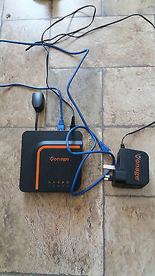 Vonage Voip Vdv23 Phone Adapter & Cables