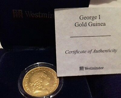 Great Britain,  Rare Gold guinea of King George I, 1716. Westminster Collection