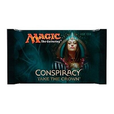 TCG Magic the Gathering 10 Booster Conspiracy Take the Crown englisch
