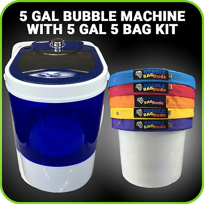5gal 5bag Kit with 5gal Bubble Ice Bags Now Machinebubble Ice Magic Machine