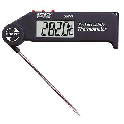 EXTECH Digital Pocket Thermometer,4-1/2 In. L, 39272