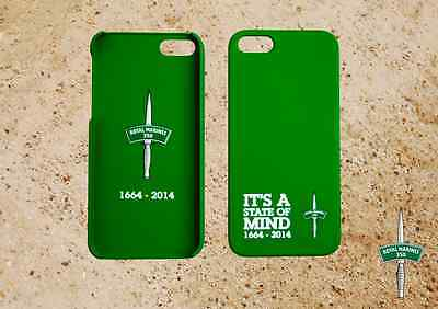 Wholesale Pack Of 50 Royal Marines Iphone 5/5S Phone Covers - Green And Grey