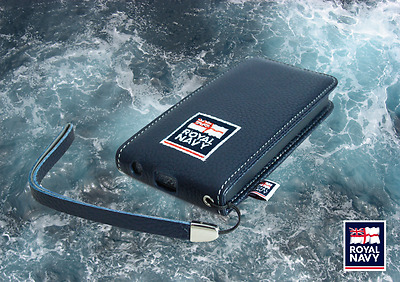Wholesale Pack Of 20 Royal Navy Iphone 5/5S Leather Flip Cases