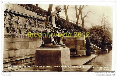 SCOTTISH AMERICAN WAR MEMORIAL, EDINBURGH, SCOTLAND, Postcard