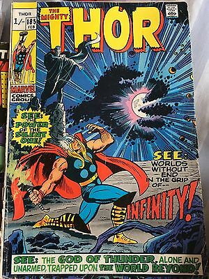 Marvel comics The Mighty Thor #185 1971