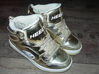 Heelys girls shoes, trainers, wheels size UK 2
