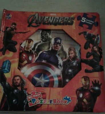 Marvel Avengers My First Puzzlebook, New