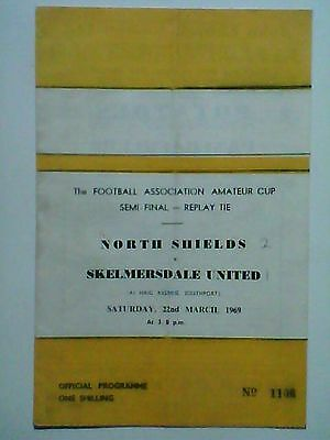 NORTH SHIELDS v SKELMERSDALE UNITED, 1969 F.A. Amateur Cup Semi-Final Replay