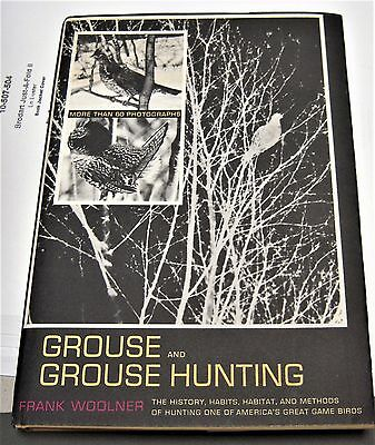 GROUSE AND GROUSE HUNTING by Frank Woolner isbn 0517504448
