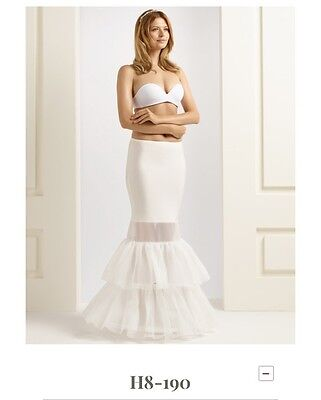 Ivory Fishtail Hoop Petticoat (for Wedding Dress or cocktail dress)