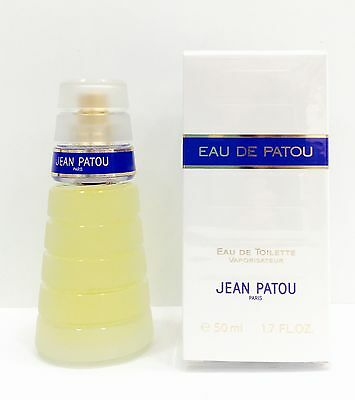 Jean Patou Eau De Patou Edt 50 Ml Spray New & Rare