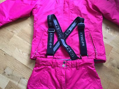 Ski Suit - Jacket And Trousers Salopettes Girls 11 - 12 Years