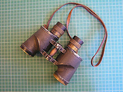 WW2 MILITARY BINOCULARS 6 x 30 CANADA REL 1943 WAR DEPT ARROW