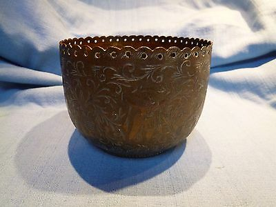 Decorative Vintage Indian Brass Planter Pot