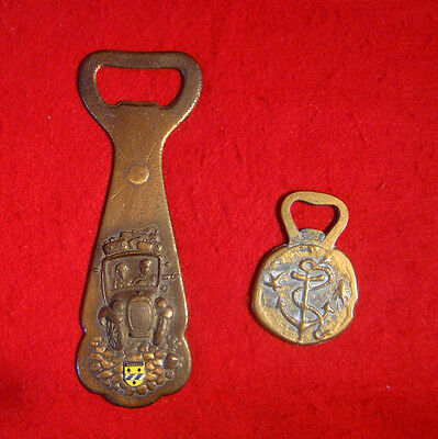 2 METAL BOTTLE OPENERS FROM GREECE and HOLLAND
