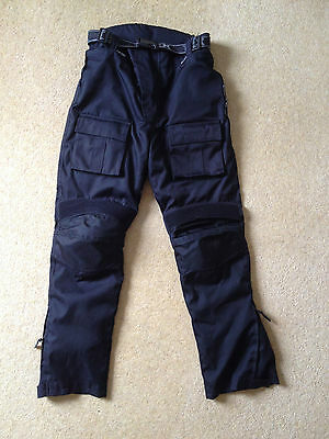 Texpeed motorcycle trousers - armour and waterproof, size W32, L34