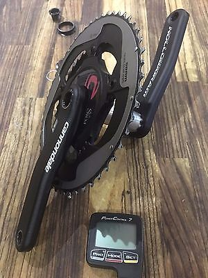 2016 Cannondale SI SRM powermeter 130 BCD 165mm PC7