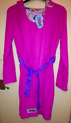 New Adventure Time Princess Bubblegum Dressing Gown Robe Women's Size 10 / Small