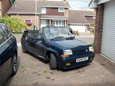 1989 Renault 5 GT Turbo EBS Convertible - Restored