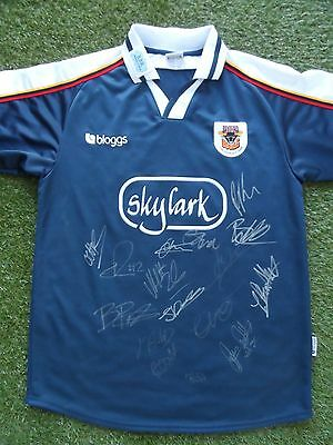 Bradford Bulls Shirt Hand Signed by 2017 Squad - COA - Rugby - 16 Autographs