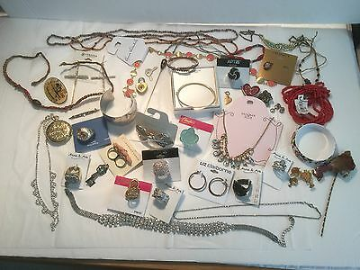 Huge Fabulous Jewelry Lot New & Used Pieces Necklaces, Bracelets, Rings