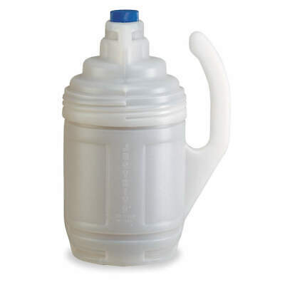 JUSTRITE Bottle Jacket,1 Gal.,Clear,Polyethylene, 12009