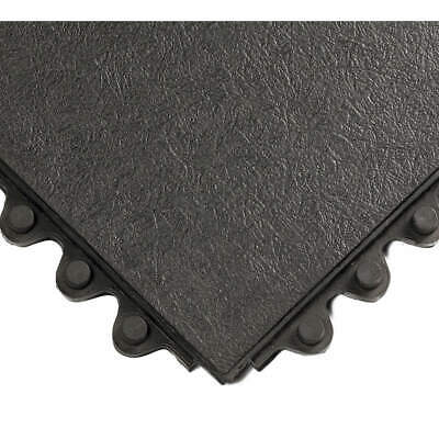 WEARWELL Modular Antifatigue Mat,Black,3ft.x3ft., 570