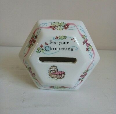 "Wedgwood ""Peter Rabbit"" Christening Money Box"