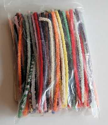 "120 + 6""  Multi Coloured Pipe Cleaners ,craft ,hobby"