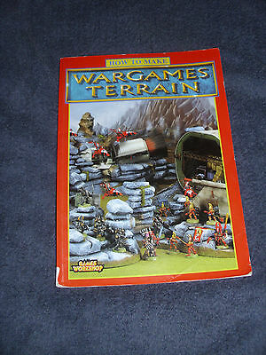 How To Make Wargames Terrain - Games Workshop - Ex Condition