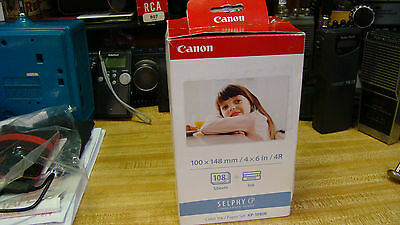 NEW OEM CANON KP-108IN Color Ink/Paper  SELPHY CP900 800 780 770 760 Fast Ship