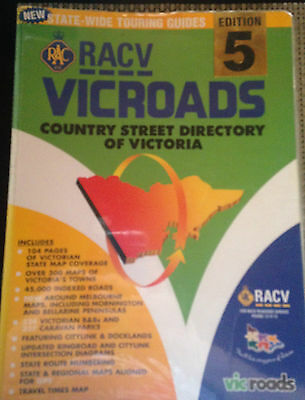 Racv Vicroads Country Street Directory Of Victoria 5Th Edition 2002