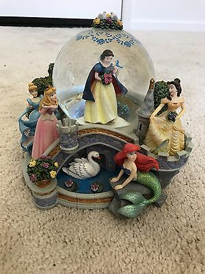 Disneyland Princesses Once Upon A Dream Snowglobe