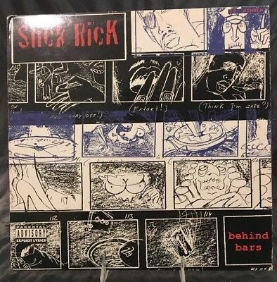 "SLICK RICK ft WARREN G -""BEHIND BARS""-12"" SINGLE, DEF JAM RECORDS # 422-851061-1"