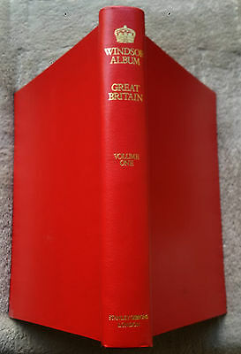 Great Britain Stanley Gibbons  Windsor Album  Volume 1  with 300   Used & Mint
