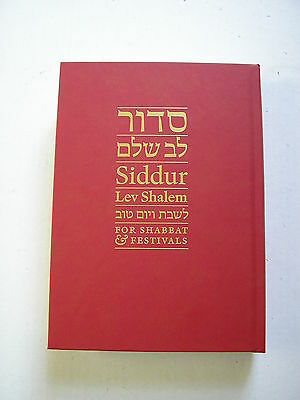 Siddur Lev Shalem for Shabbat and Festivals brand new condition copyright 2016