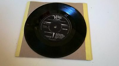 "Ella Fitzgerald The Music Goes Round And Around Verve 7"" Vinyl.45Rpm 1962 Ex"