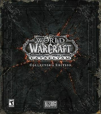 Wow Cataclysm - Collector's Edition LEER EMPTY BOX World of Warcraft