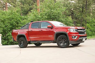 2016 Chevrolet Colorado Z71 Trail Boss 2016 Chevy Colorado Z71 Trail Boss Edition