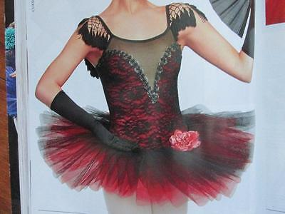 Dancing Soul Cosplay Lace Pleated Tutu Curtain Call Costume AMED