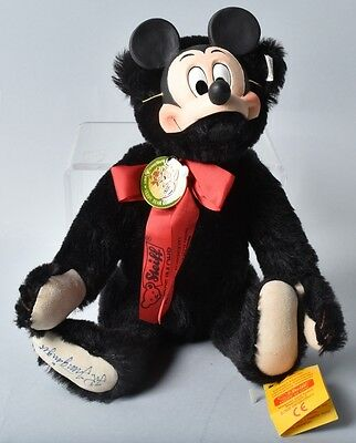 1991 Rare Steiff Epcot WDW Disney Mickey Mouse Antique Teddy Bear Convention