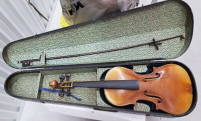Josef Klotz Mittenwalde  Germany 1795 Violin,   Bow & Case  for repair