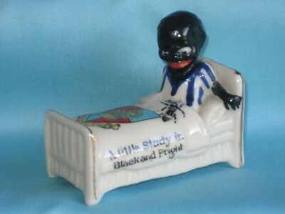 Arcadian - Black Boy In Bed 'A Little Study In Black And Fright' - EXMOUTH