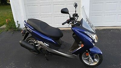 Yamaha Smax 155cc Blue 2015 Low Miles! w/ 5 Year Yamaha Warranty