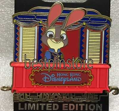 Disney pin HKDL Train Pin Series LE300  - Zootopia Judy Hopps