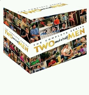 Two and a Half Men The Complete Series Seasons 1-12 DVD Box Set New Sealed