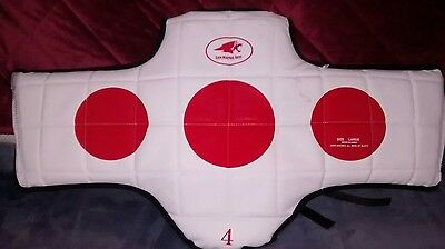 Hogu Chest Protector Martail Arts Gear large EUC