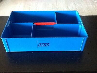 Vintage Lego Carry Tray - Blue