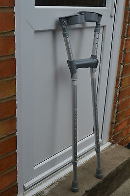 Pair of COOPERS elbow crutches.